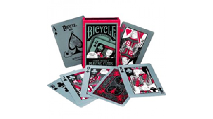 Cards Bicycle Tragic Royalty- jassher magic