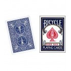 BICYCLE PLAYING CARDS POKER (BLUE)-JASSHER MAGIC SHOP
