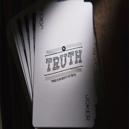Lies Playing Cards The first casualty is Truth Deck by Murphy/'s Magic