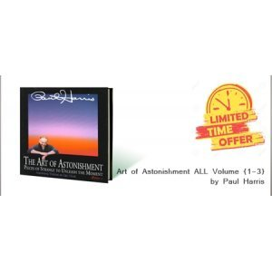 Art of Astonishment  ALL Volume {1-3} by Paul Harris -BOOK