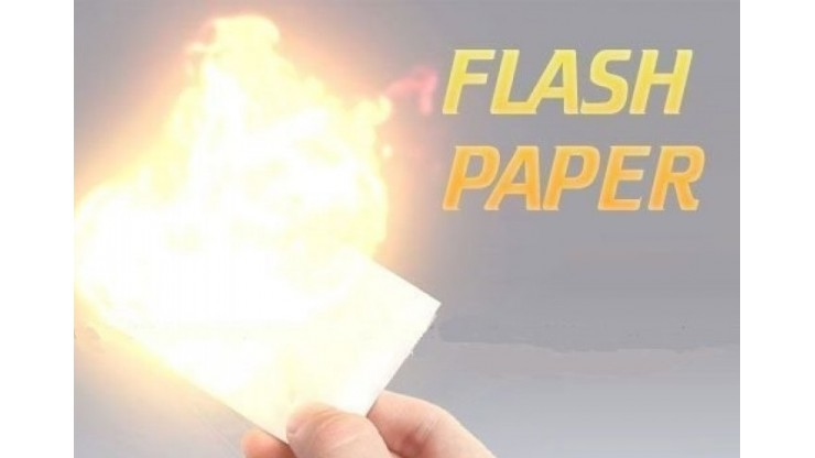 Flash paper By Jassher Magic